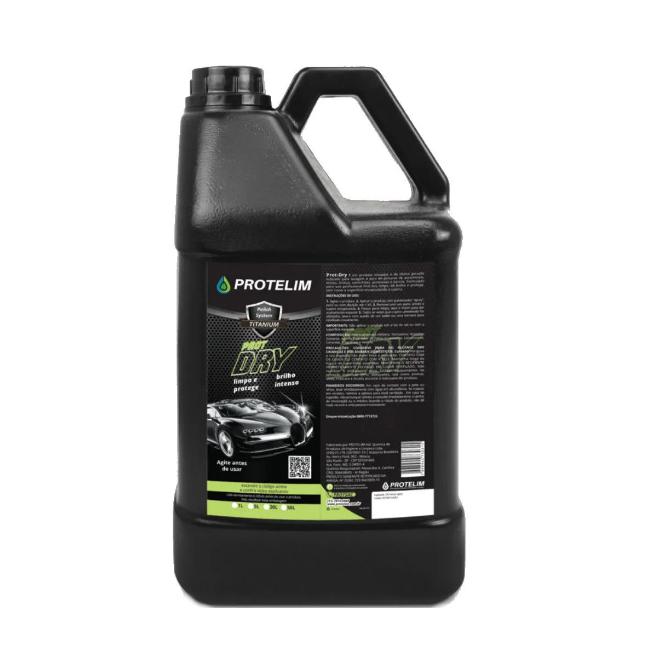 Kit Lavagem A Seco Automotiva Prot Dry + APC Multilimpador
