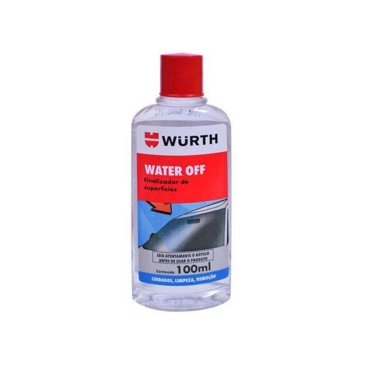 Water Off Cristalizador + Anti Embaçante + Limpa Para Brisa