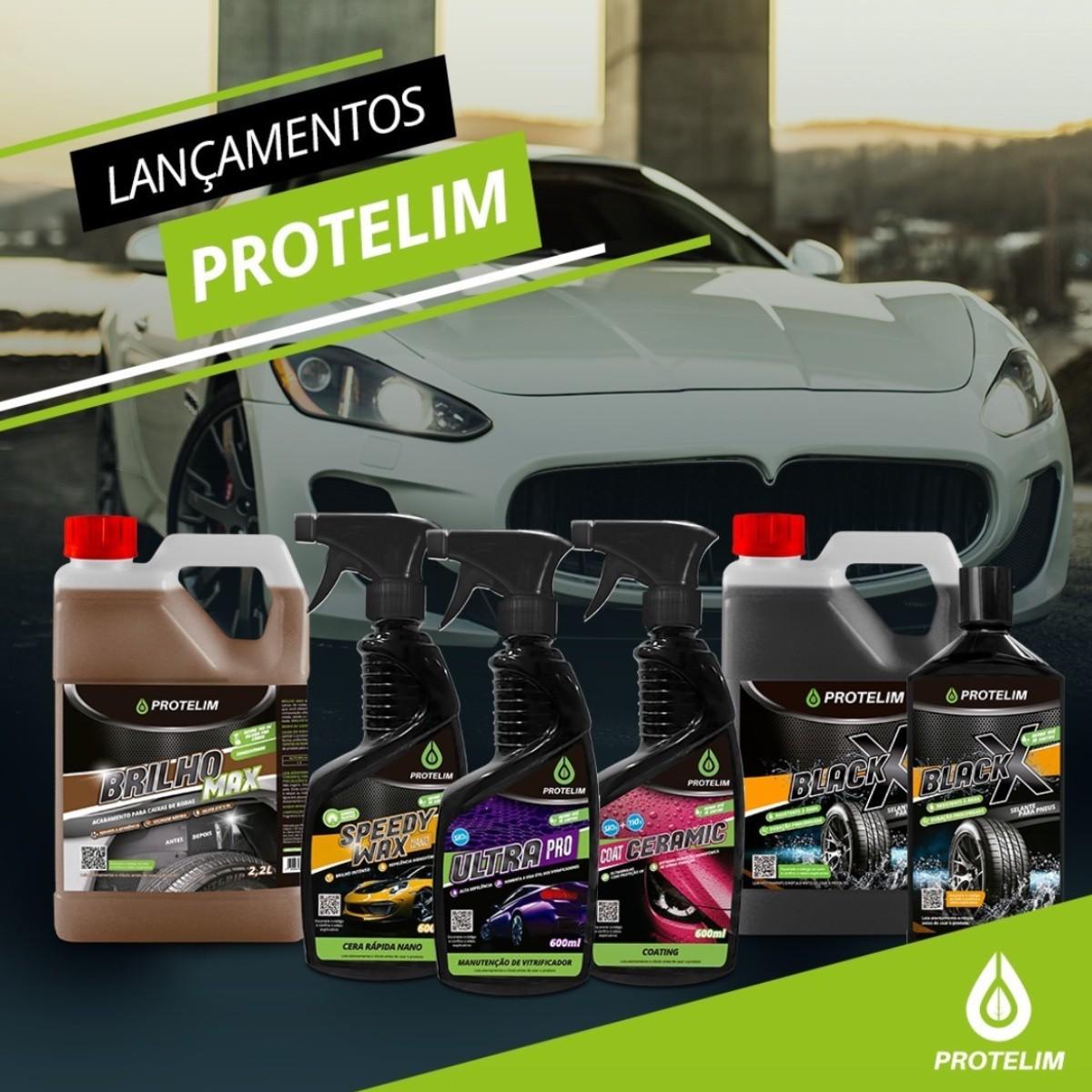 Kit Limpeza Acabamento - Prot Mult 200 1L + Brilho Max 5L