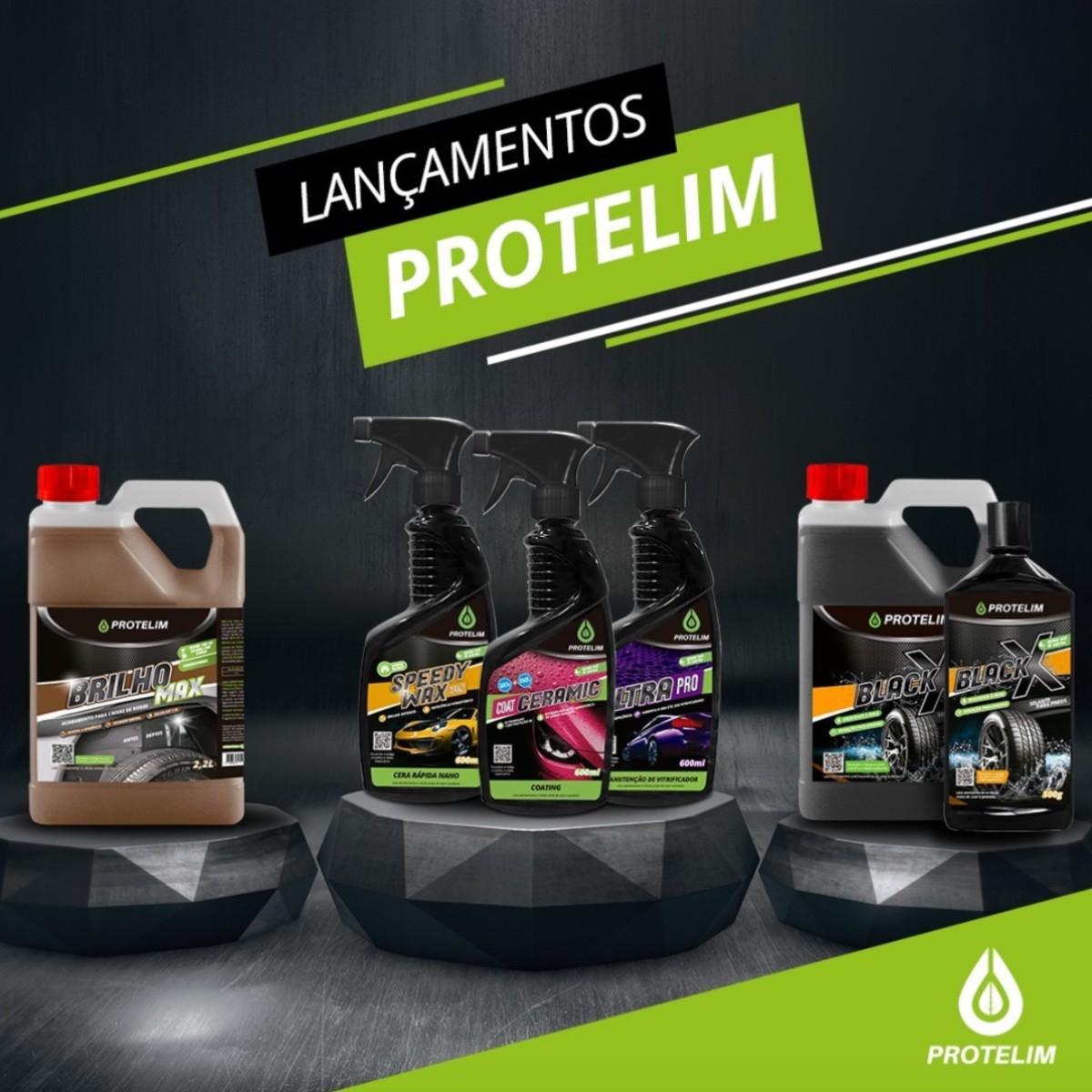 Kit Limpeza Acabamento - Prot Mult 200 5L + Brilho Max 5L