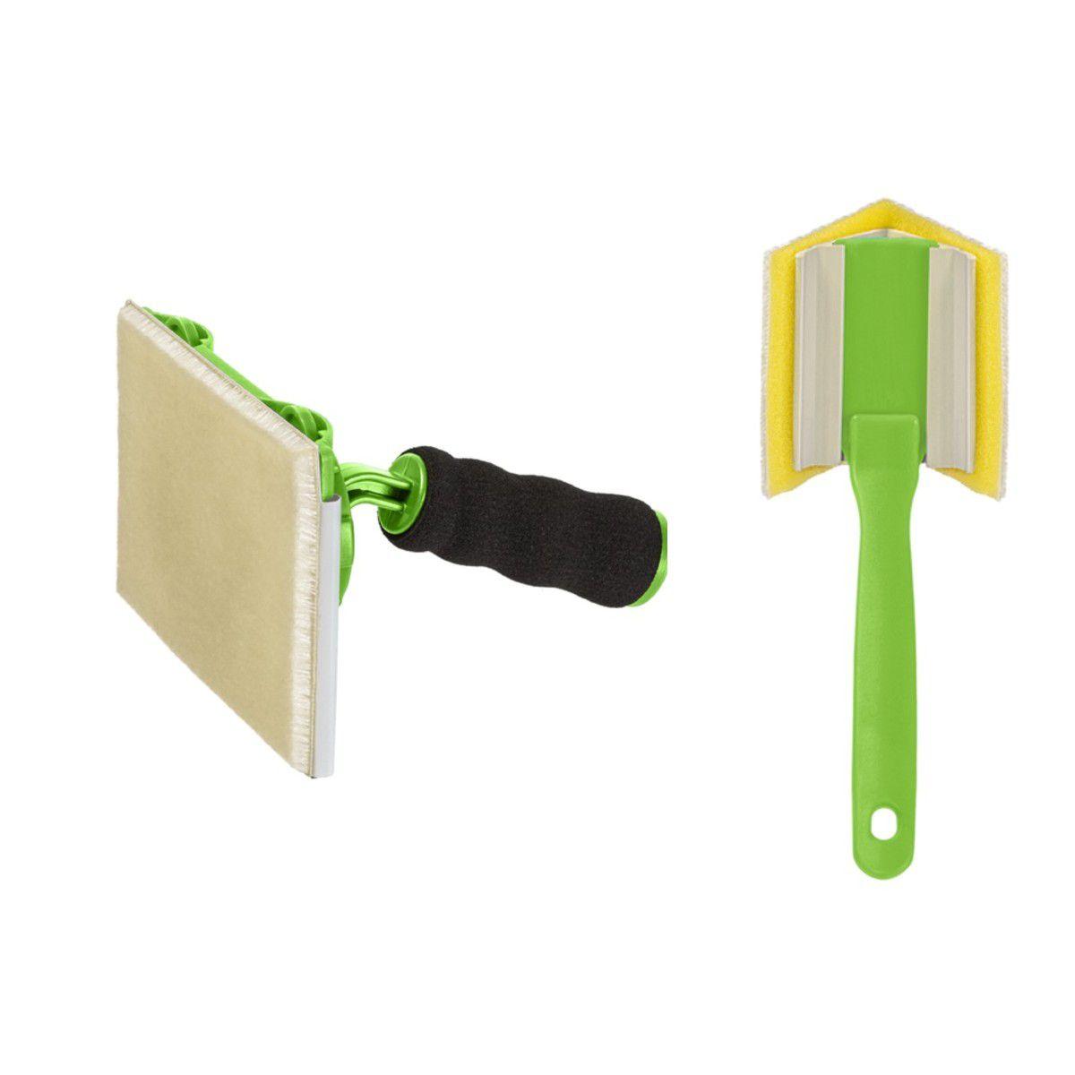 Kit Pads De Pintura 360° E 90° De Canto E Recortes C/ Refil
