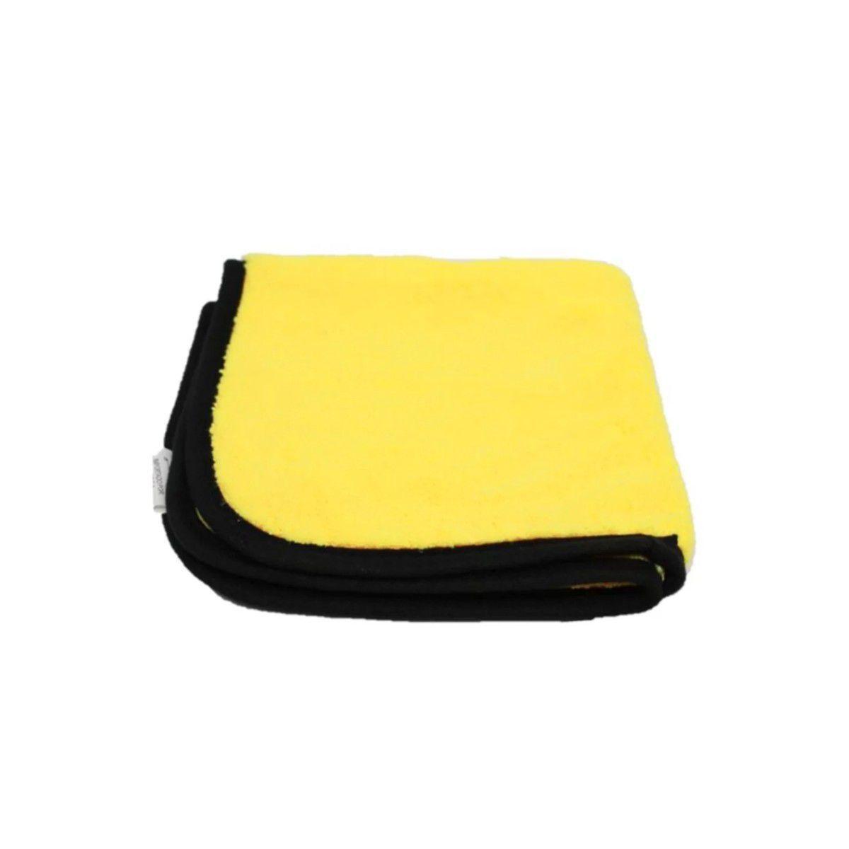 Kit Polimento Automotivo Lumina Wax +Pano de Microfibra Amarela