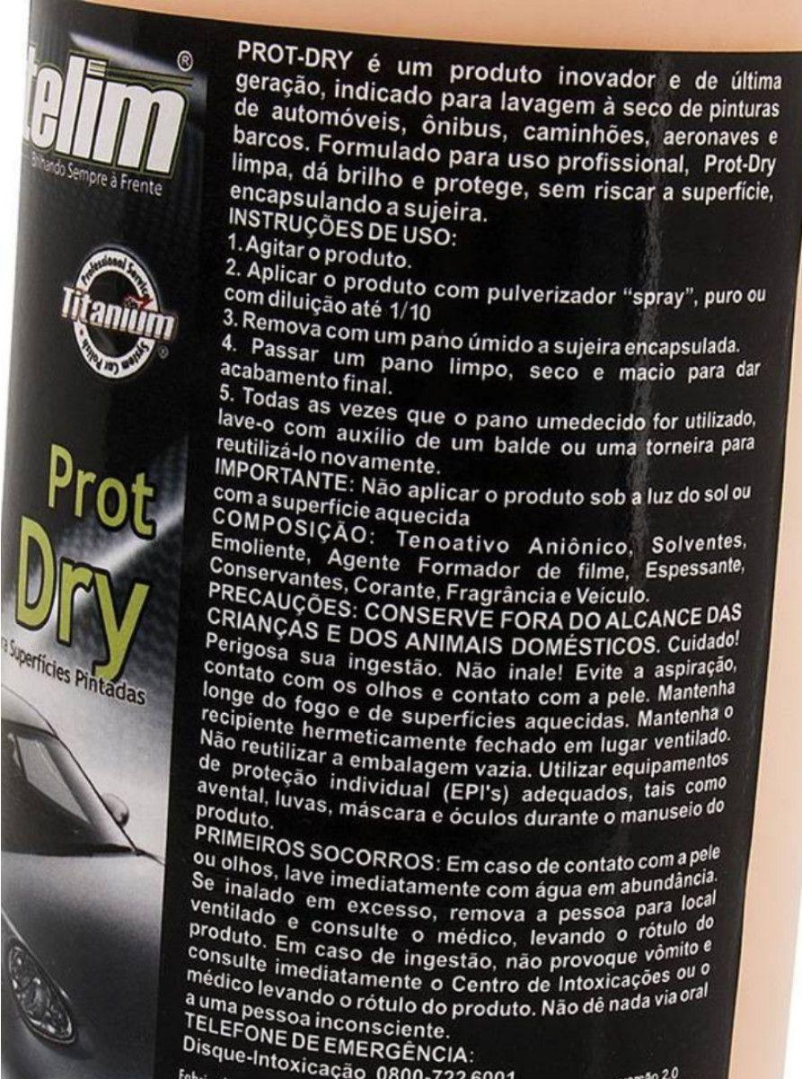 Lava A Seco Prot-dry 1l Desengraxante Mult 200 5L Protelim