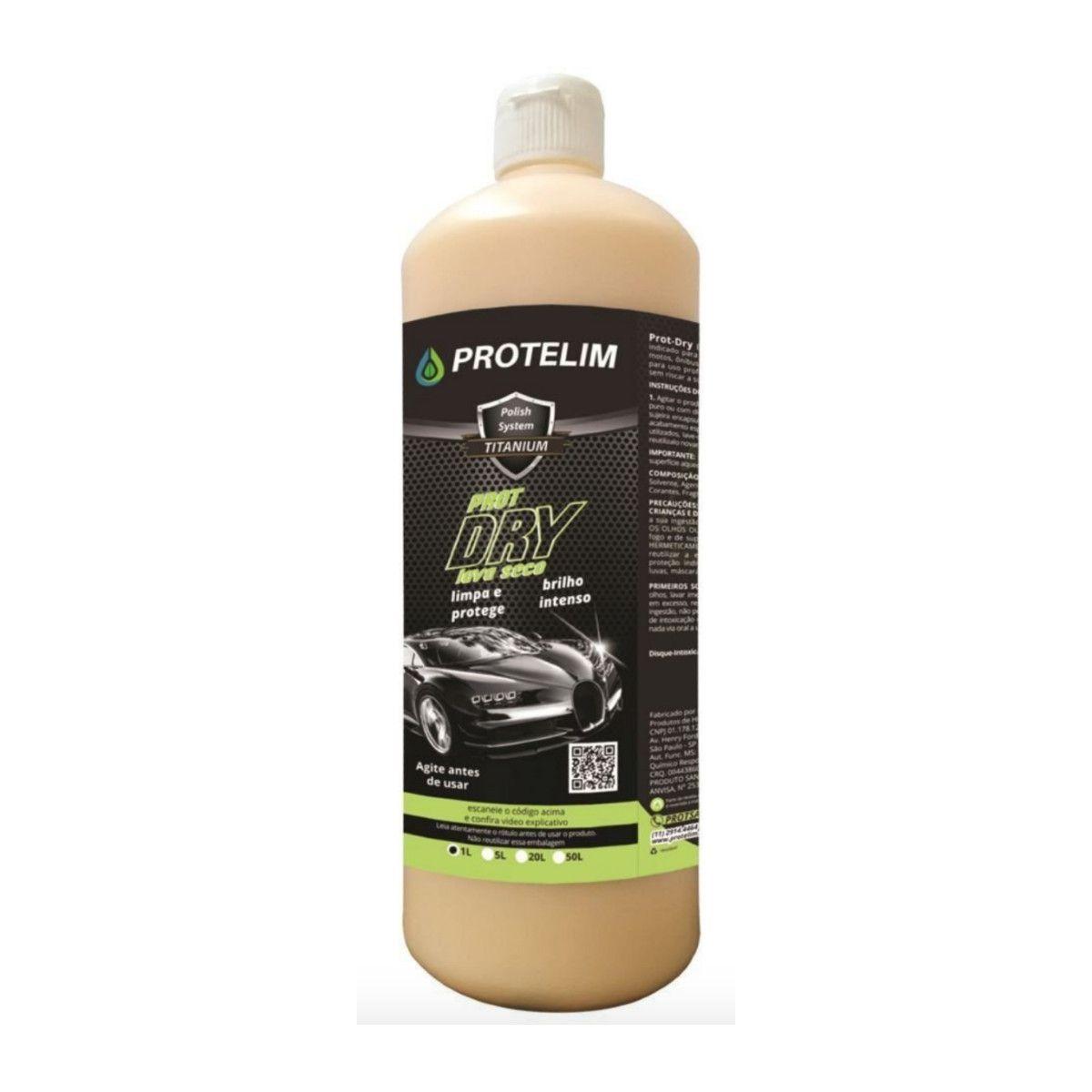 Lavagem a seco Prot Dry 1 Litro Protelim