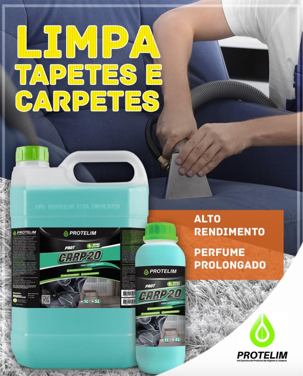 Limpa Carpete Carp 20 (BRINDE Escovas Cerdas Duras + Macias)