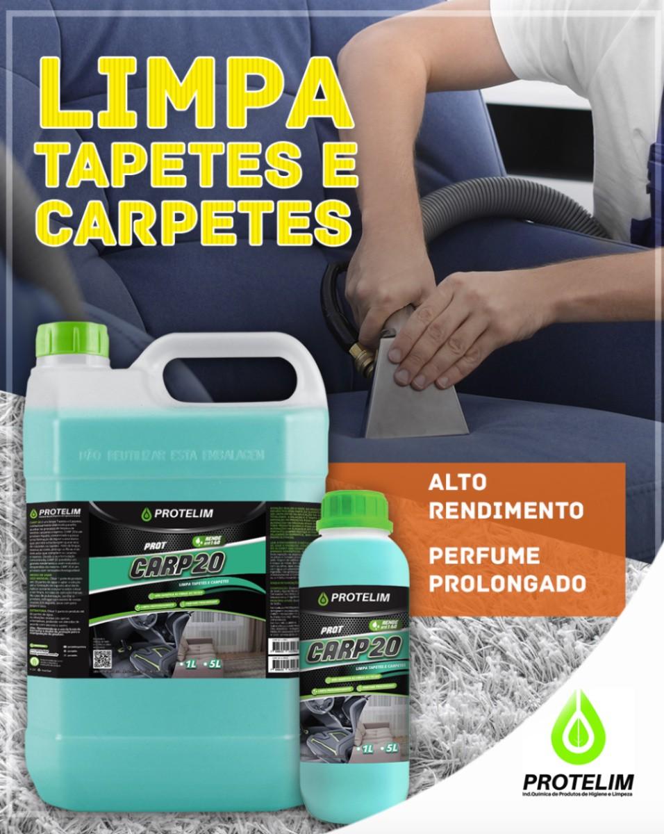 Limpa Carpete Prot Carp 20 5l (BRINDE Escova Cerdas Macias)