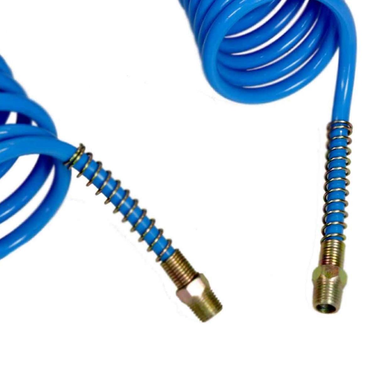 Mangueira Espiral Em Poliamida Azul 1/4 Polietileno