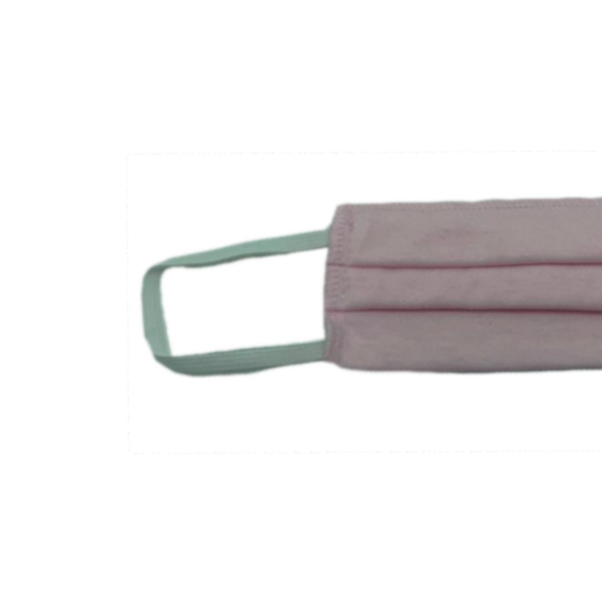 Máscara Reutilizável Proteção Respiratória Lavável Rosa