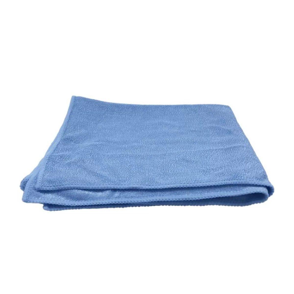 Pano De Microfibra 38cmx38cm Azul Detailer 10 Unidades