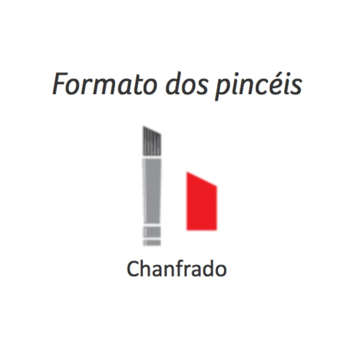 Pincel Chanfrado Filamento Sintético Condor Ref. 287 20