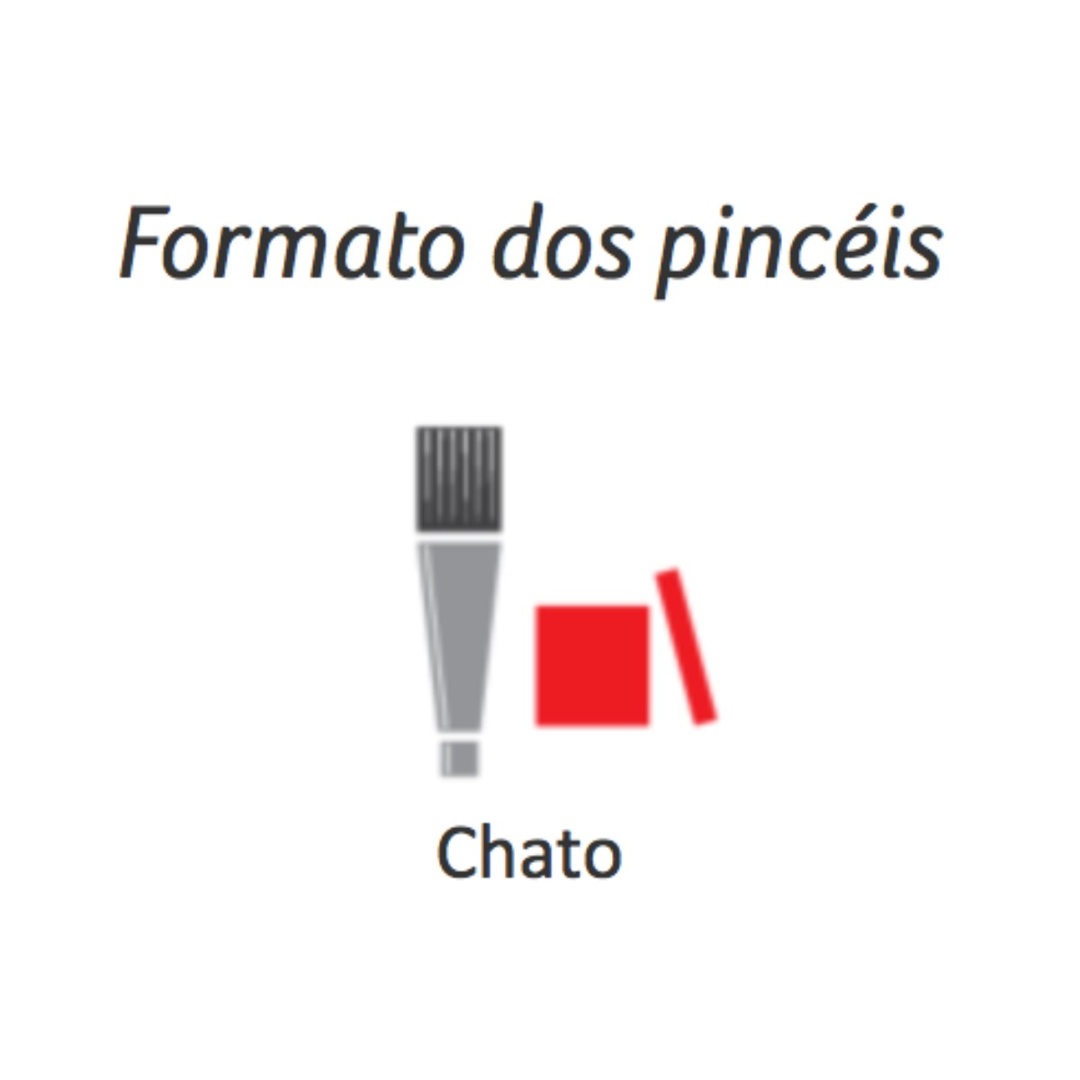 Pincel Orelha de Boi Condor - Ref 484 16