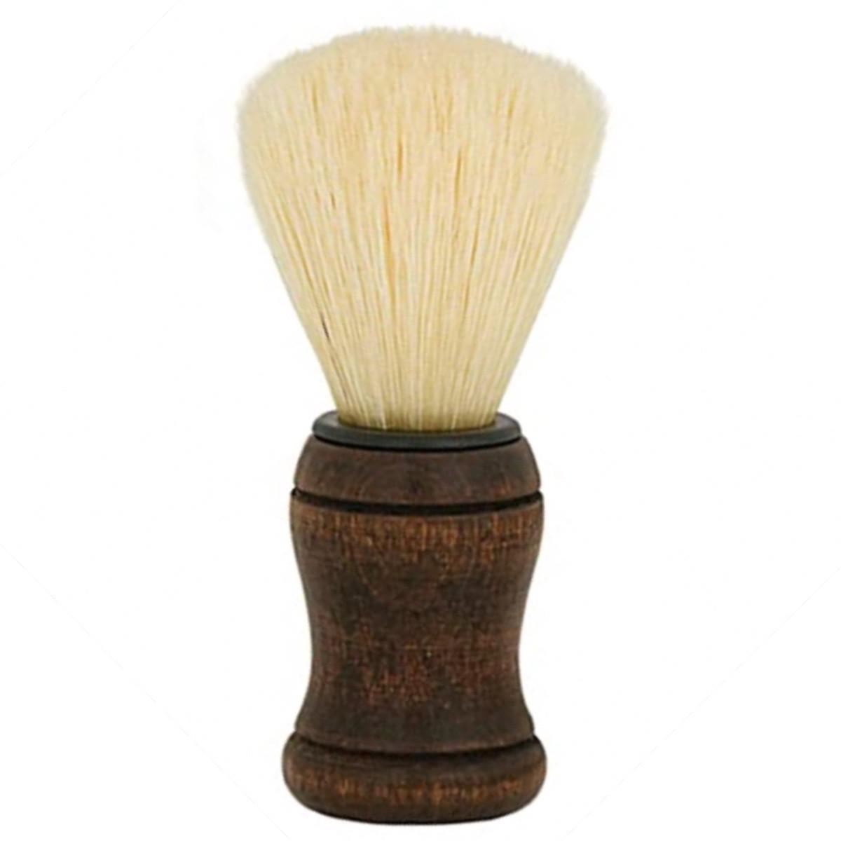 Pincel Para Barbear Condor / Cerdas Naturais Claras Sm 3050