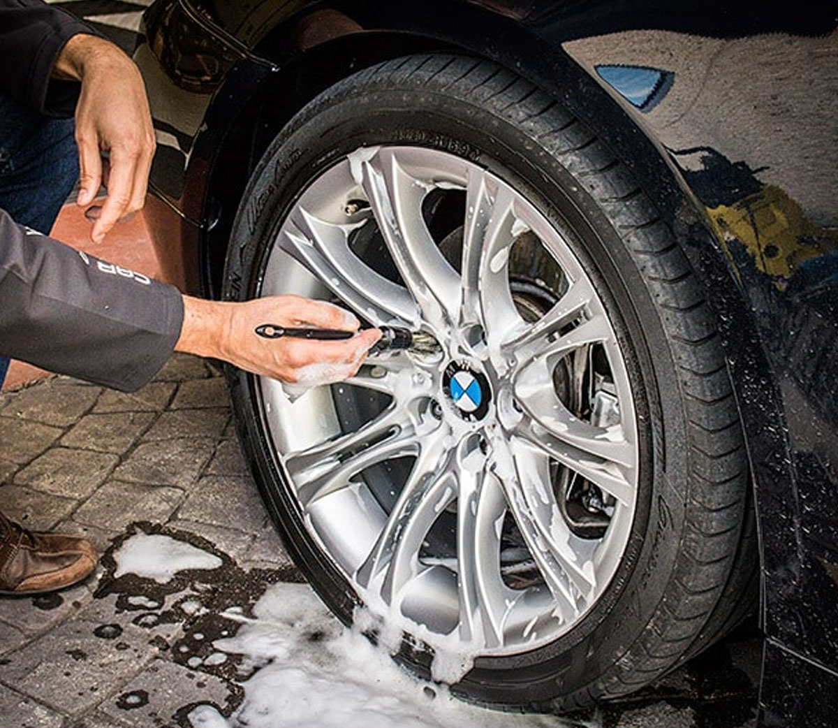 Pincel Para Detalhamento Automotivo Mandala Detailer