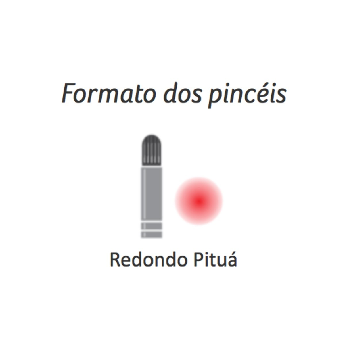 Pincel Série 423 Redondo Pituá Condor 0