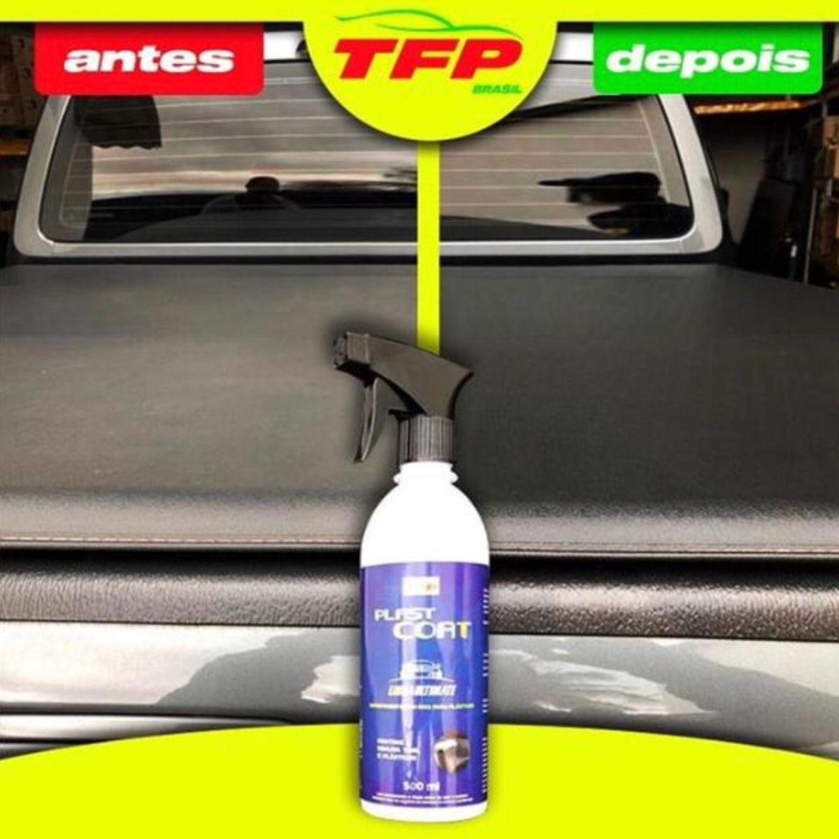 Plast Coat Protege / Hidrata Plásticos e Vinil SIO2 500ml