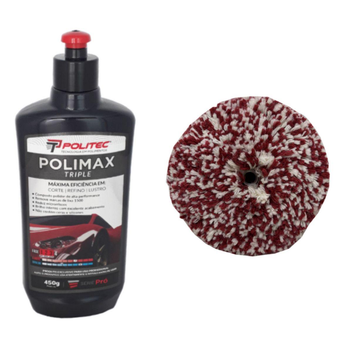 Polidor Alta Performance Polimax + Boina 5''