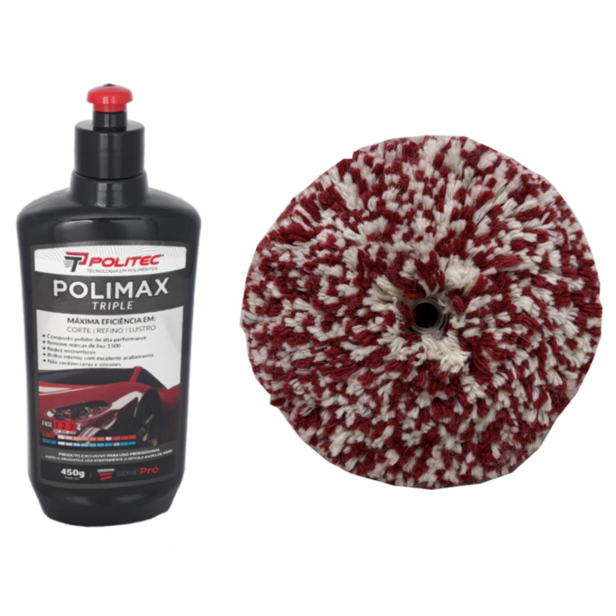 Polidor Alta Performance Polimax + Boina 8''
