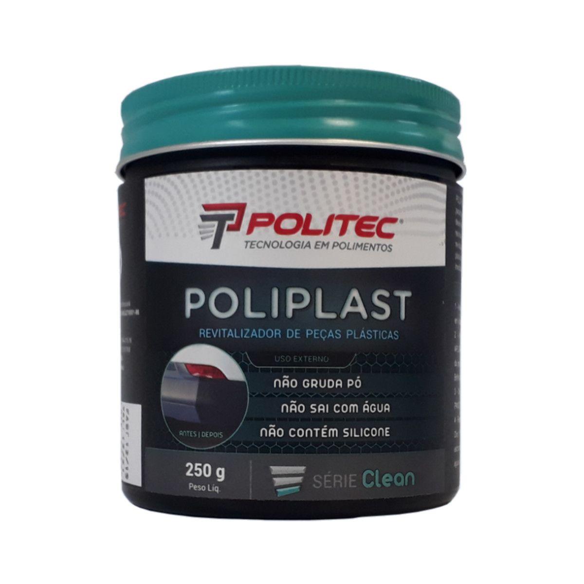 Poliplast Pasta Revitalizadora P/ Plásticos 250g Politec