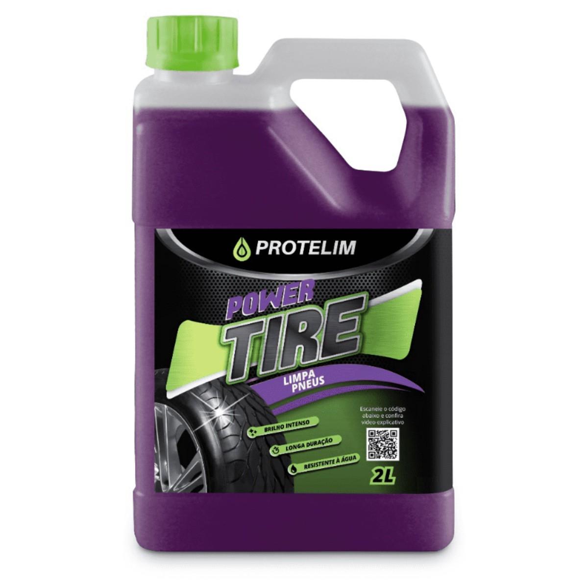 Pretinho Power Tire 2,2L (BRINDE Aplicador Microfibra)