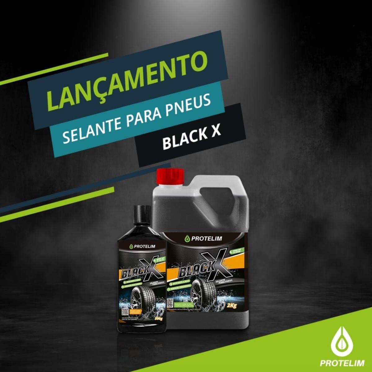 Pretinho Resiste Água Black X (BRINDE Aplicador Microfibra)