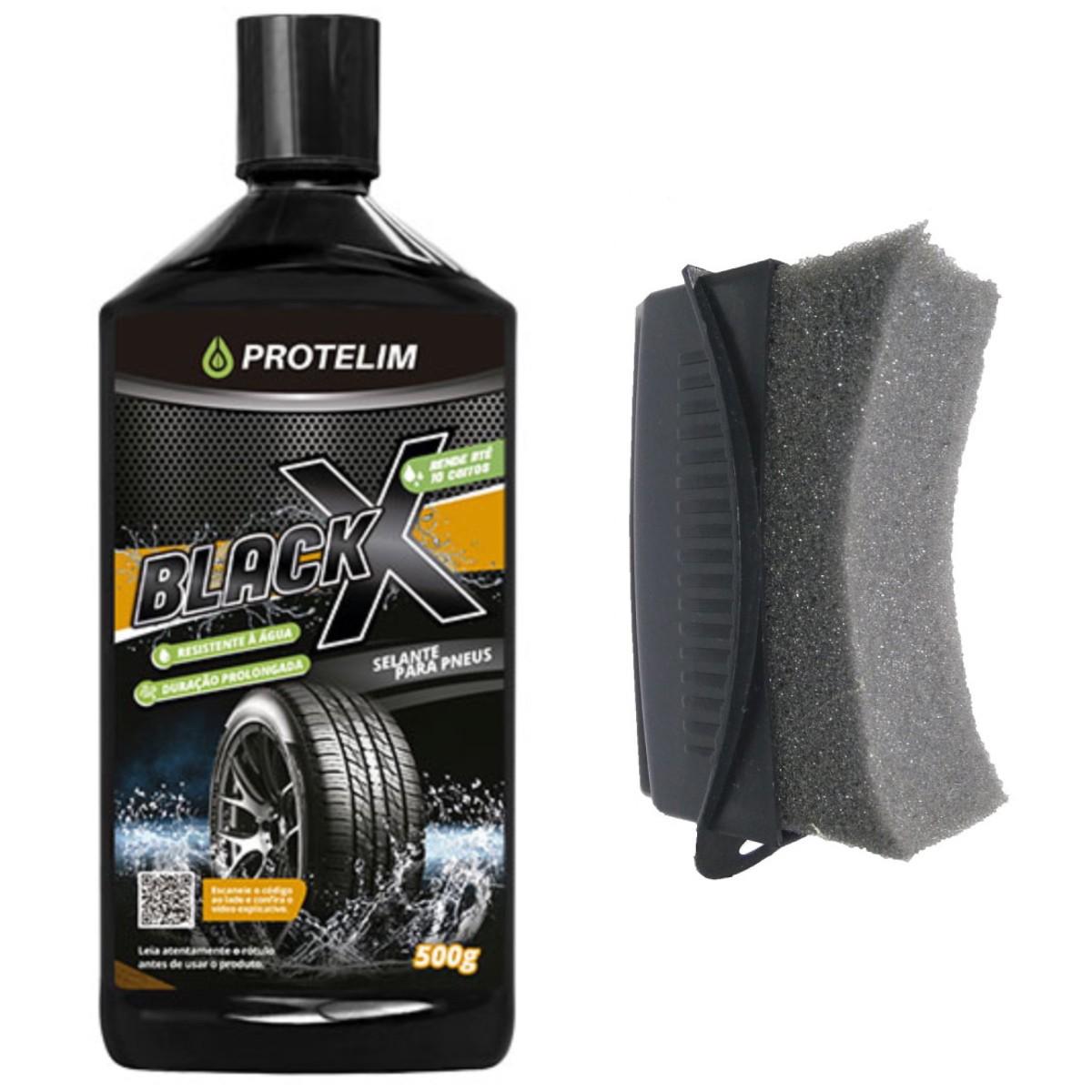 Pretinho Resiste Água Black X Protelim (BRINDE Aplicador)