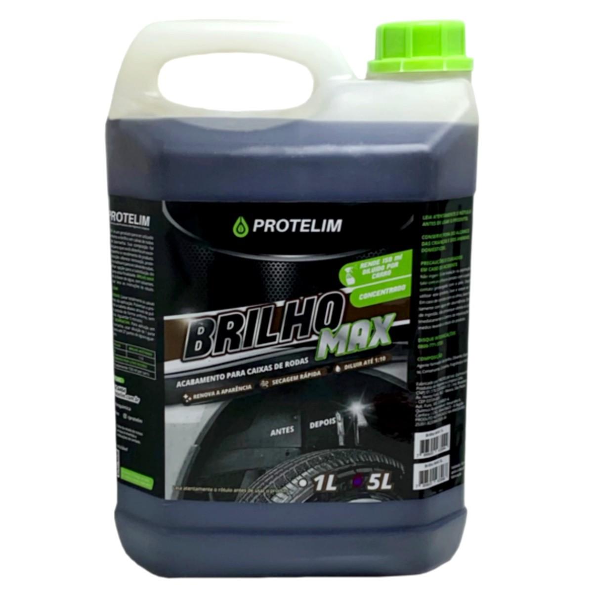 Prot Brilho Max 5L (BRINDE Escova Caixa de Rodas Grande)