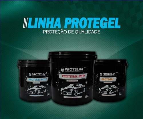 Prot Pneu Gel + Protegel New Finalizador + Protegel Plus