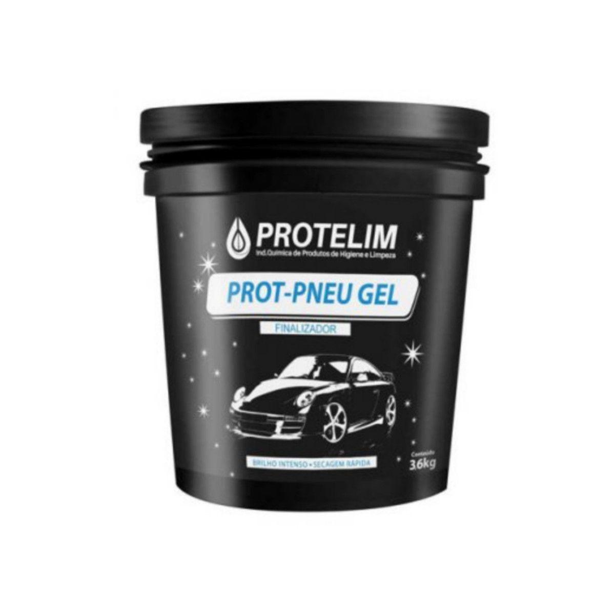 Prot-Pneu Gel Protelim  Limpa Pneu 3,6kg
