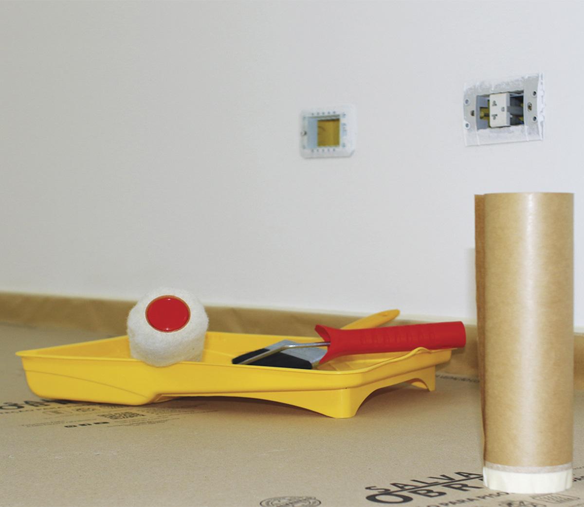 Proteção Pintura Rodapé Contra Respingo 20cm X 20m