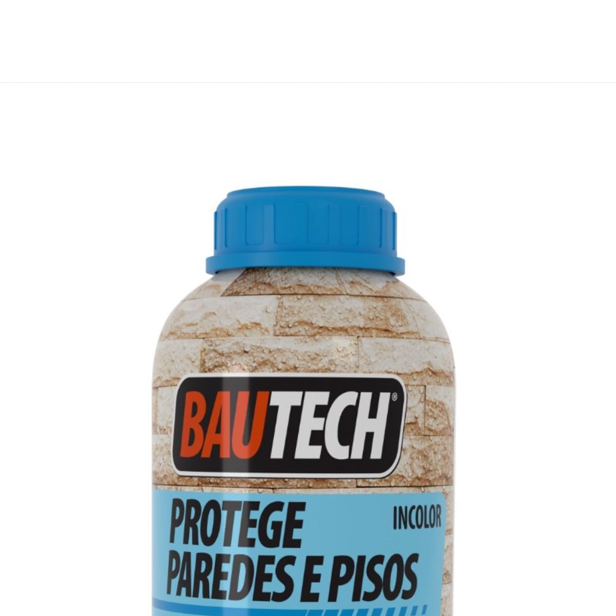 Protege Hidrofugante Umidade Paredes e Pisos Bautech 900ml