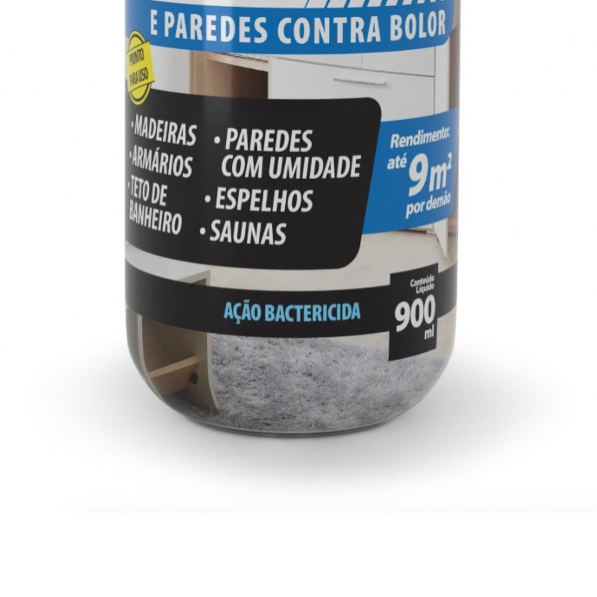 Protege Umidade Bolor Fundo Armário e Paredes Bautech 900ml
