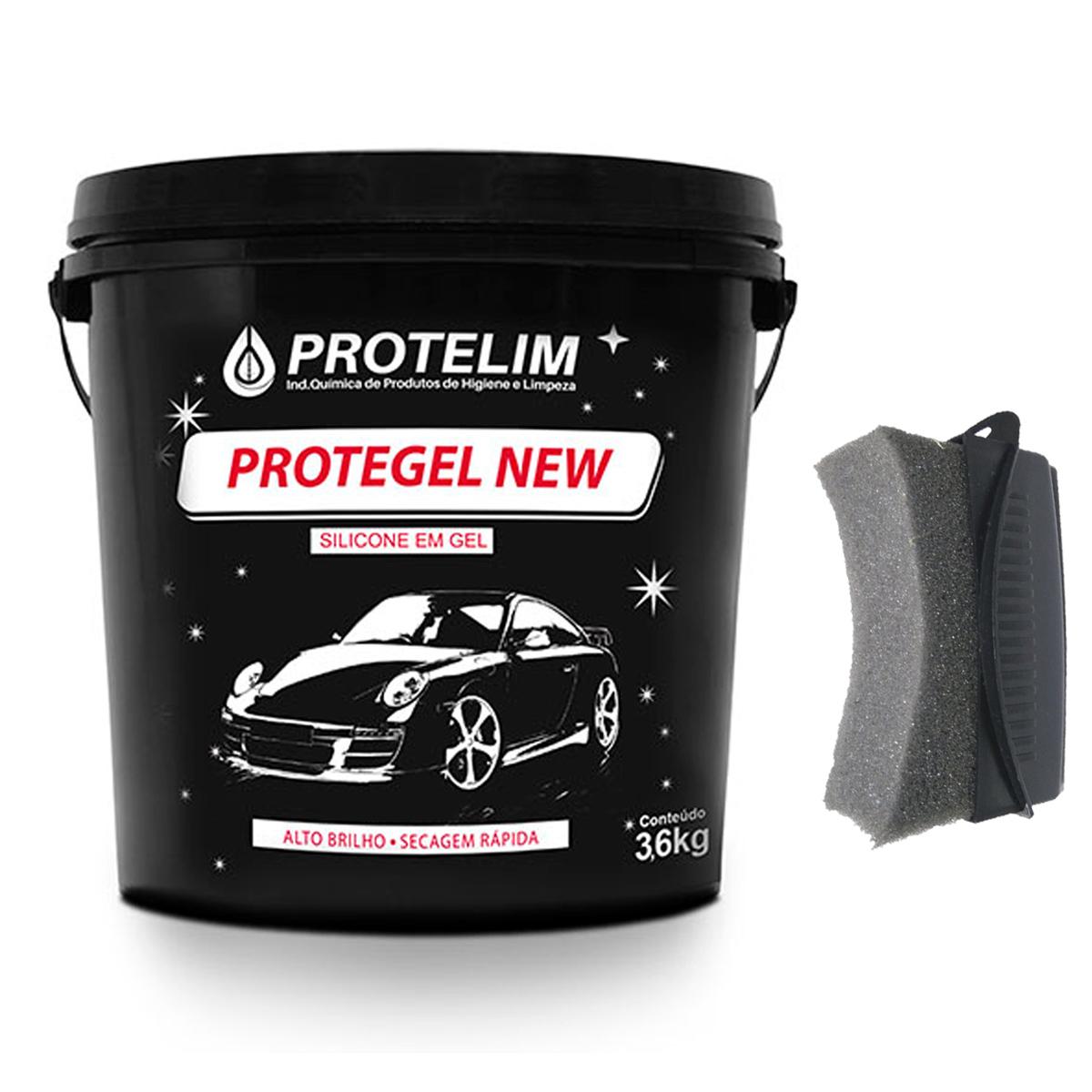 Protegel New 3,6kg + Aplicador De Pretinho