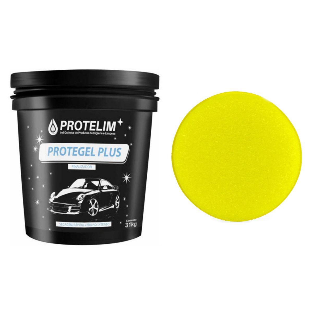 Protegel Plus 3.1kg Protelim Brinde Espuma Aplicadora