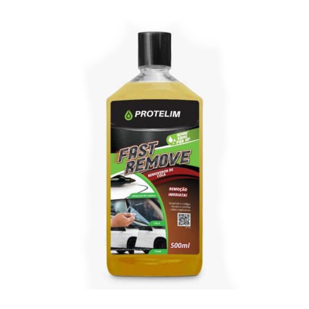Protelim Fast Remove 500ml - Removedor de Cola, Piche, Caneta e Chiclete