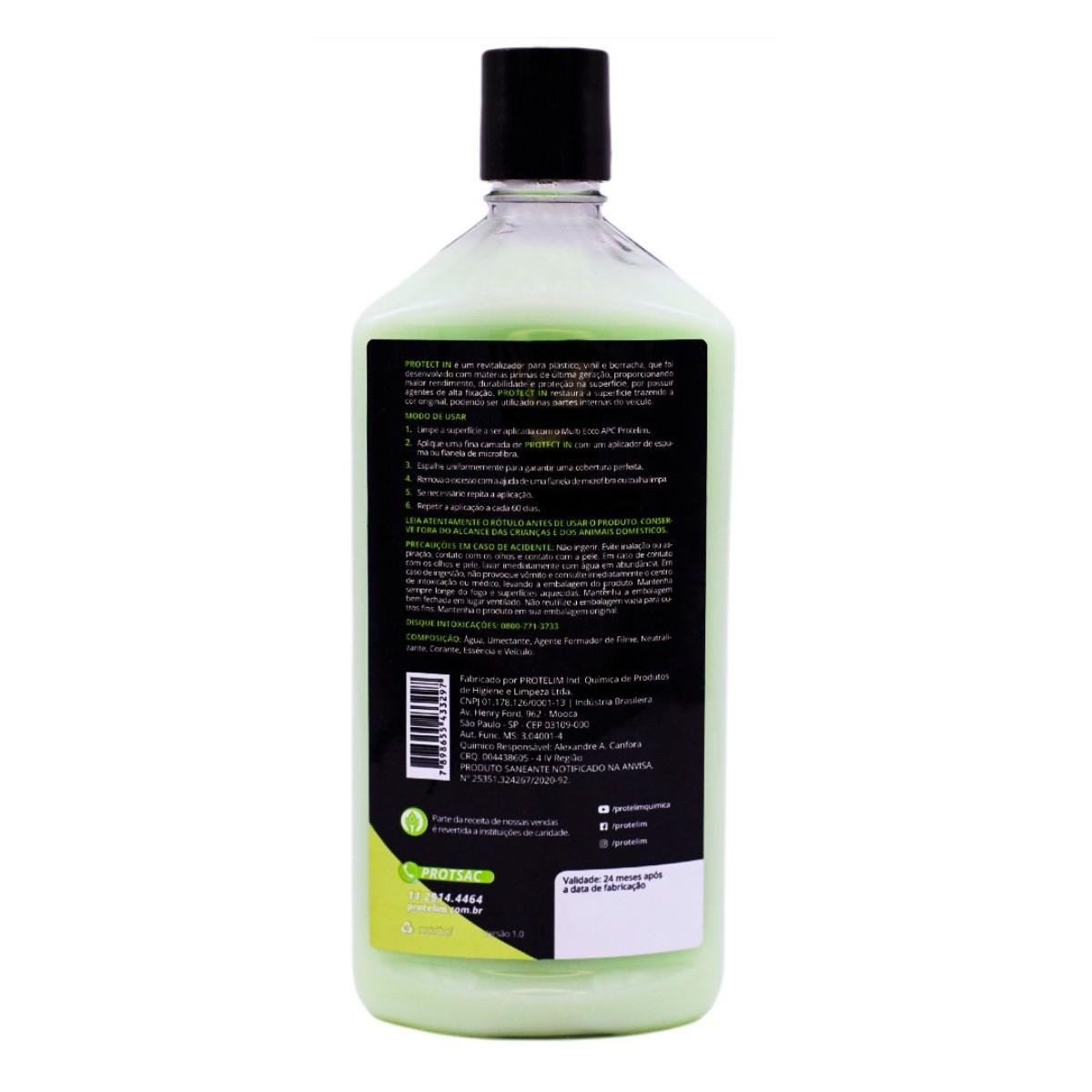 Protetor Plásticos Protect In 500g Protelim BRINDE APLICADOR