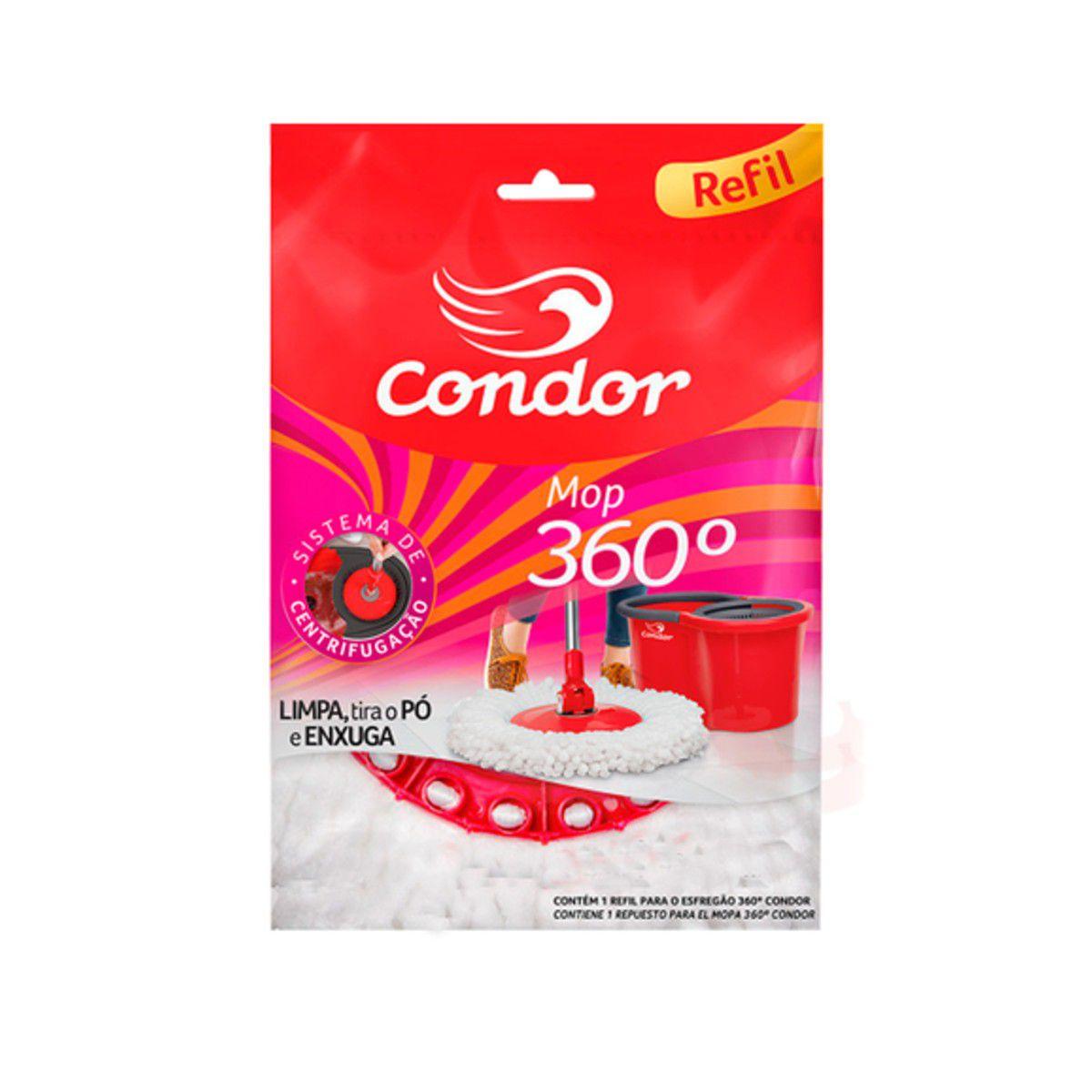 Refil Avulso Esfregão 360° Condor