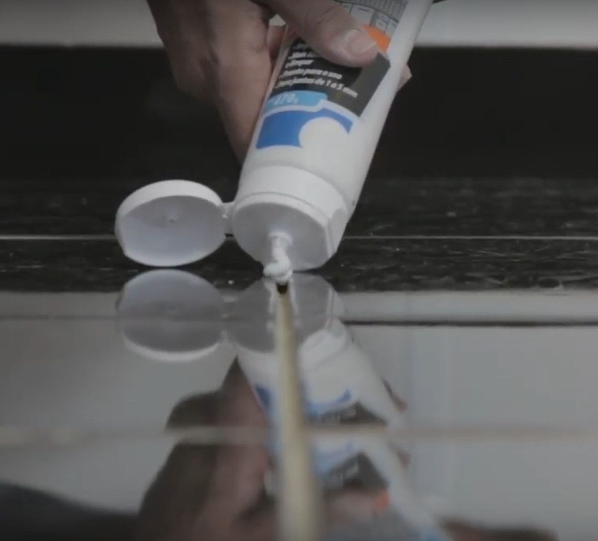 Rejunte Acrílico Líquido Bautech Grafite 470g