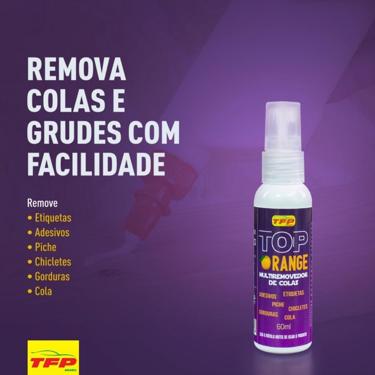 Remove Colas, Grudes e Piche Top Orange TFP 60ml