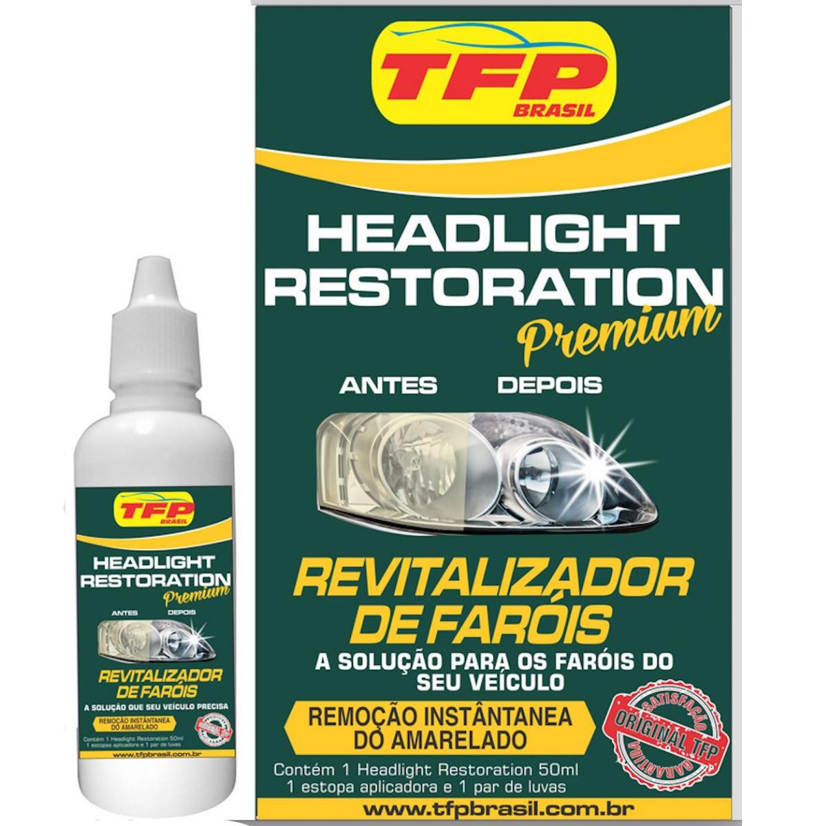 Restaurador Polidor De Farol Premium Headlight Restoration