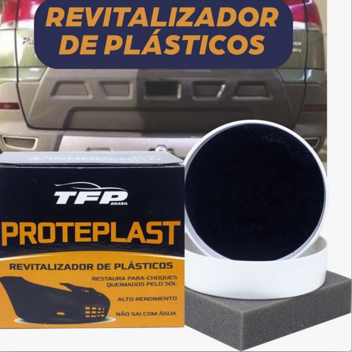 Revitalizador/Renovador De Plásticos Alto Rendimento 120g