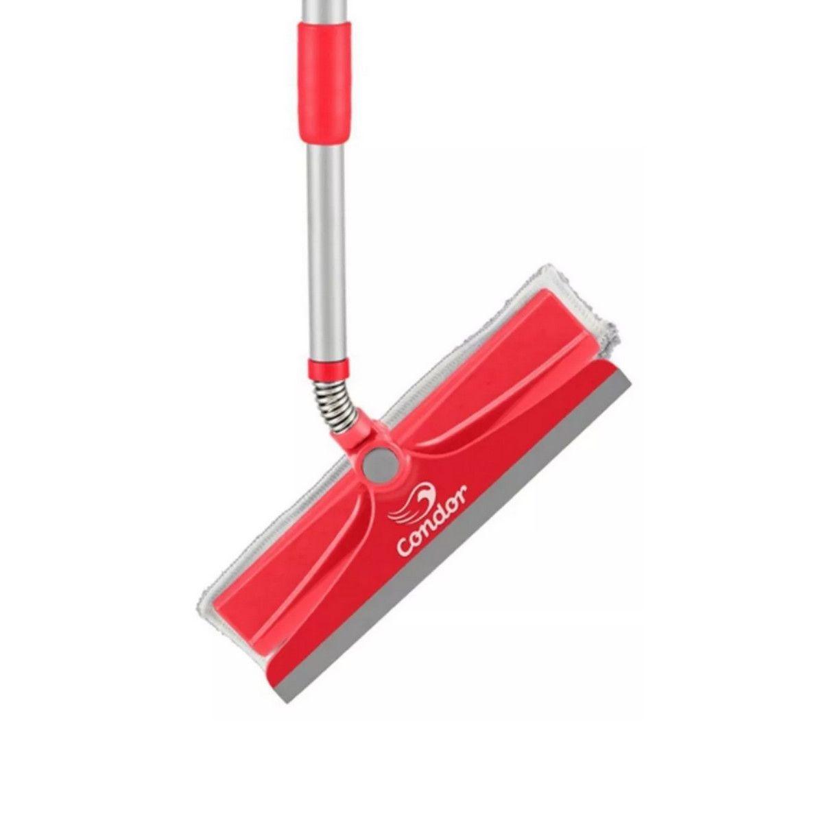 Rodo Limpeza de Vidros Limpa e Seca C/ Refil