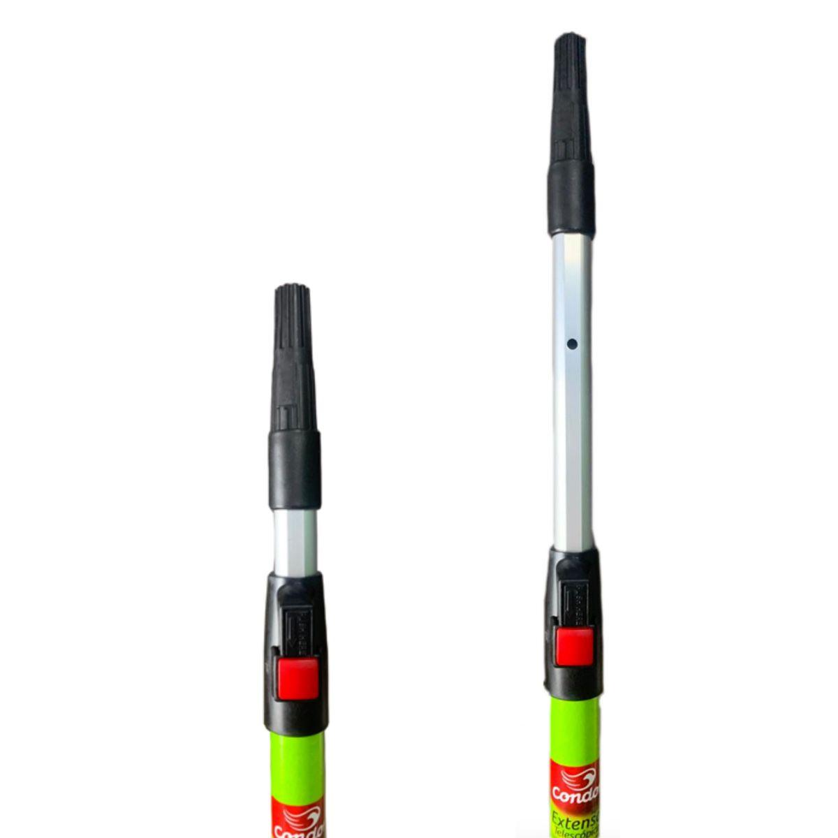 Rolo Zero Gota com Suporte 23cm (952) + Rolo Extensor 1m