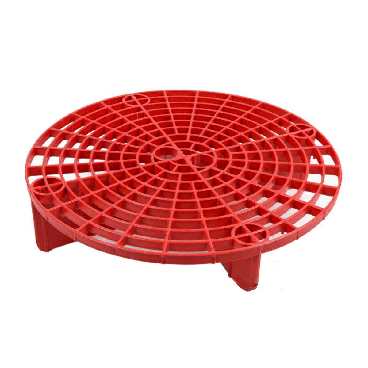 Separador De Partículas para Baldes Grelha Vermelho - Mandala Detailer