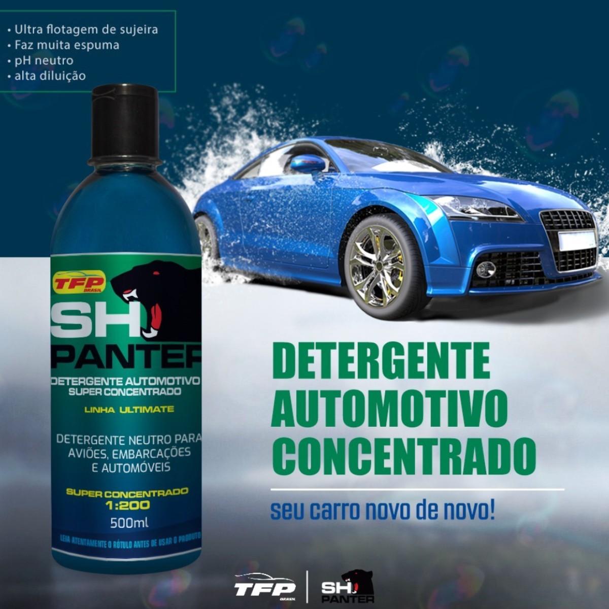 Shampoo Automotivo Super Concentrado - SH Panter Tfp 1L