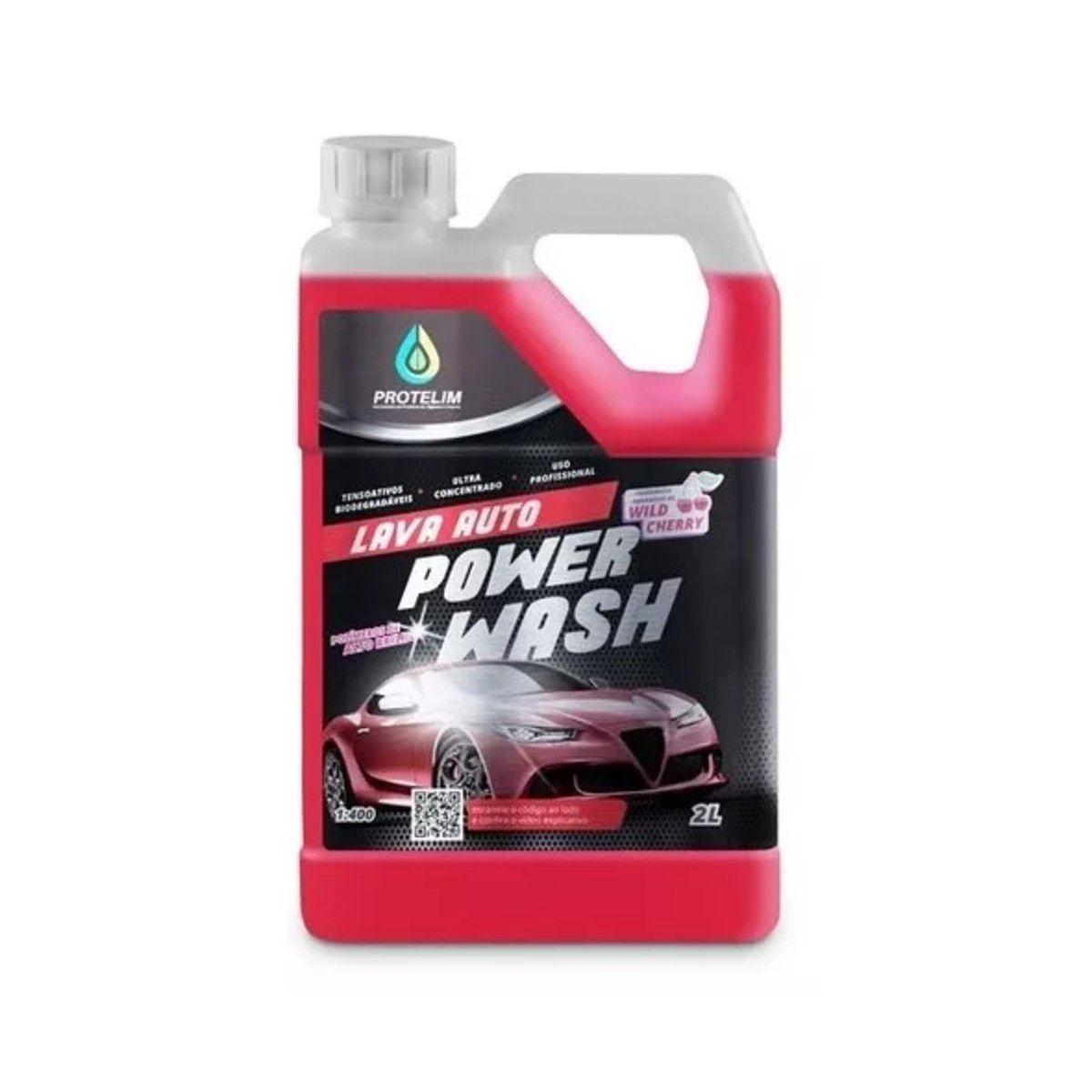 Shampoo Automotivo Lava Auto Power Wash 1:400 Protelim 2,2 Litros