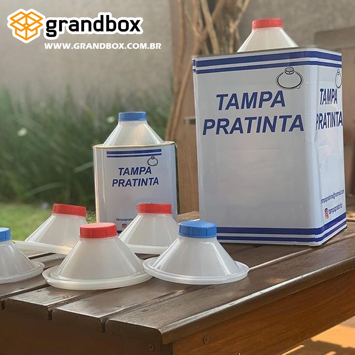 Tampa Para Tinta Fechamento 3,6L (Americano ou Plus) e 18L