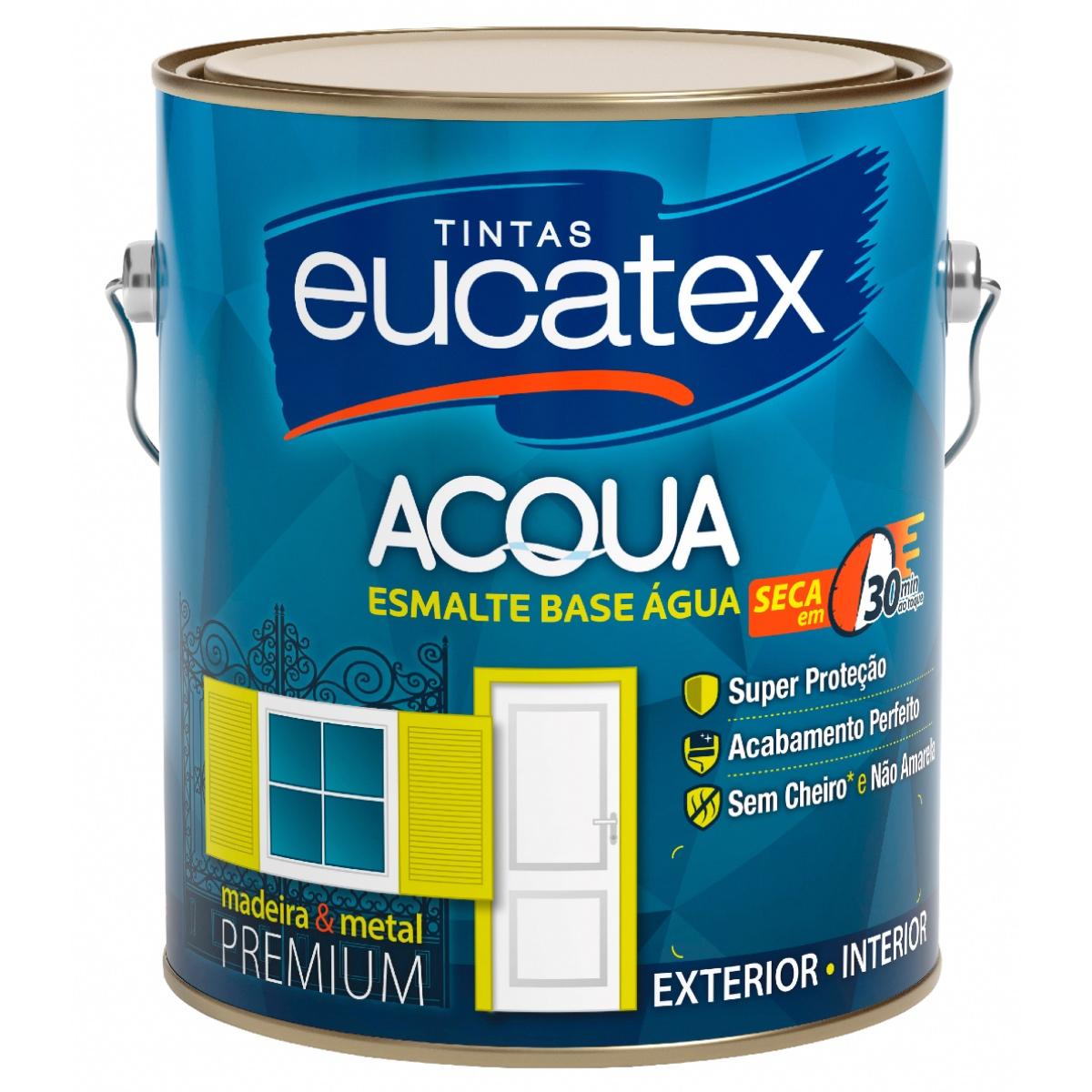 Tinta Esmalte Base Água Eucatex Acqua 3,6L
