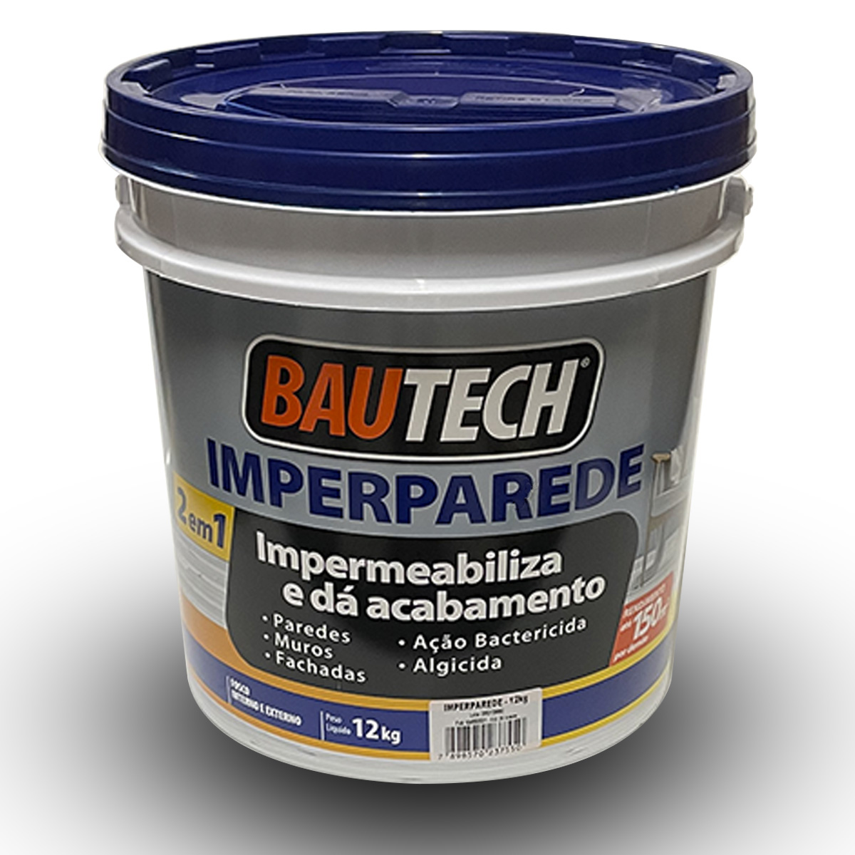 Tinta Impermeabilizante ImperParede Bautech Branco 12kg