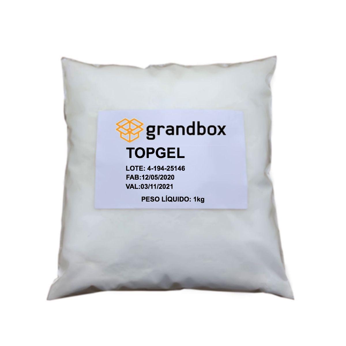 Topgel 8010 Espessante para Álcool em Gel Substituto Carbopol 1kg