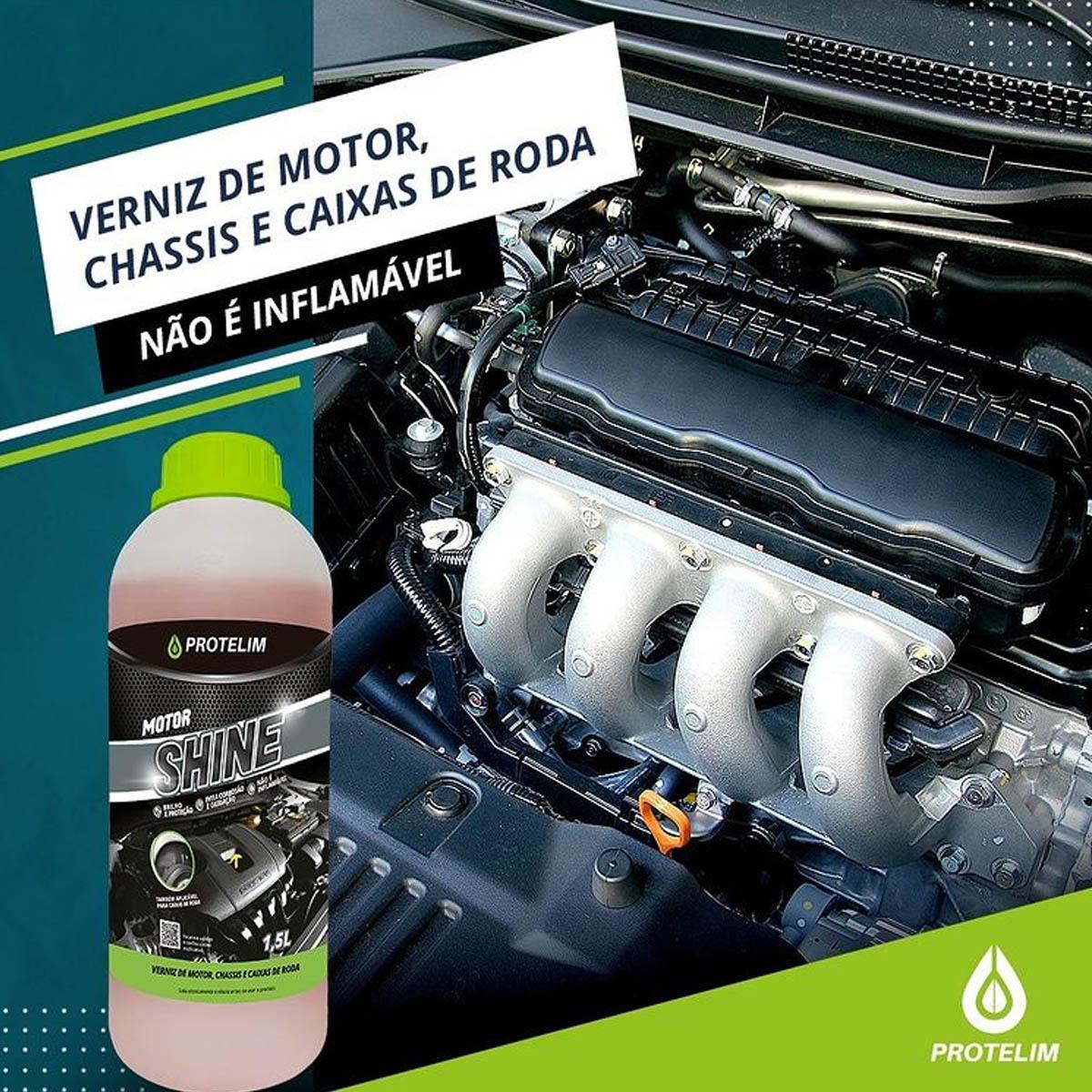 Verniz De Motor Protelim Motor Shine 1,5l Protelim